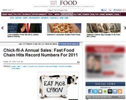 chik-fil-a sales